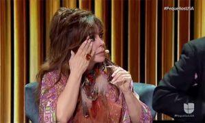 ¿Por qué Verónica Castro lloró en el primer show de 'Pequeños Gigantes'?