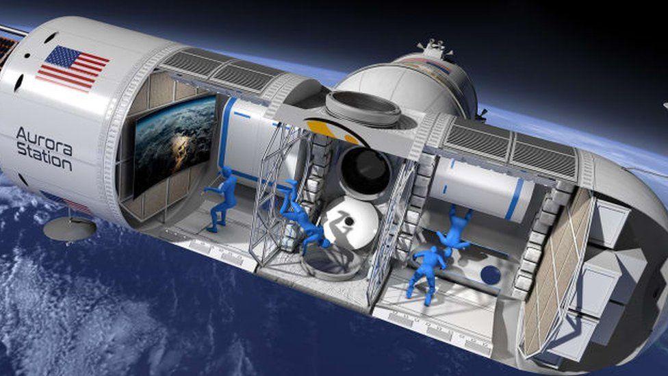 Cómo es Aurora Station, la nave que quiere convertirse en el primer hotel espacial del mundo