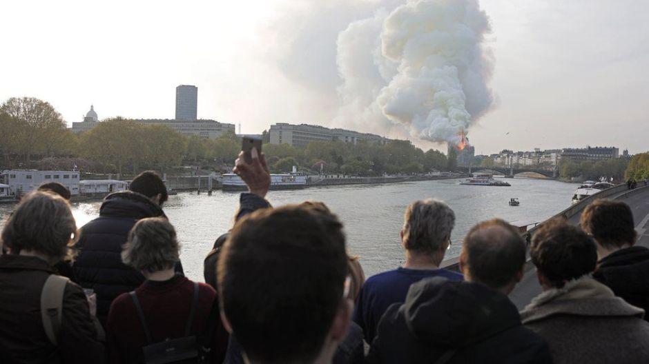François Pinault y  Bernard Arnault, los multimillonarios que donan para restaurar Notre Dame