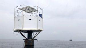 La pareja que puede enfrentar la pena de muerte por construir una casa en el mar