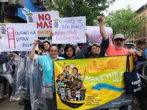 Inmigrantes neoyorquinos están desprotegidos por leyes de alquiler