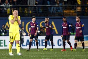 Messi y Suárez salvan al Barcelona ante un impresionante Villarreal