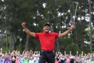 Tiger Woods ruge otra vez en el Masters de Augusta ¡15 años después!
