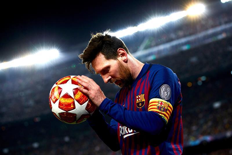 Lionel Messi salió más diablo que el Manchester United en la Champions League