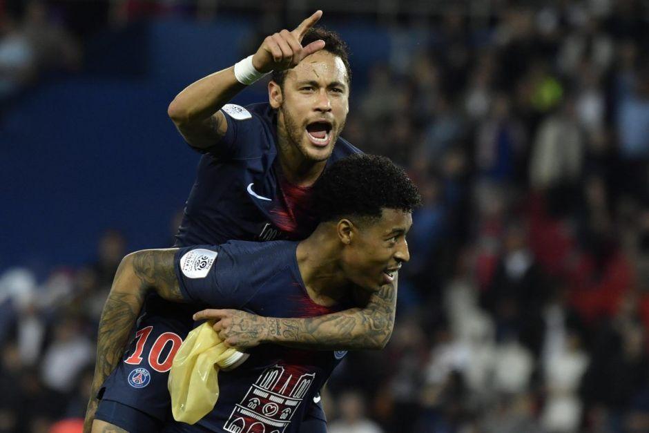 El PSG celebró su título con el regreso de Neymar y victoria ante Mónaco