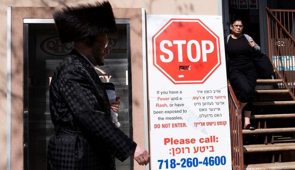 Brote de sarampión se extiende a las escuelas públicas de NYC