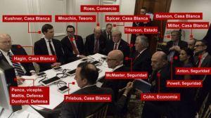 """El duro precio a pagar por estar en la """"lista negra"""" de ex funcionarios de Trump"""