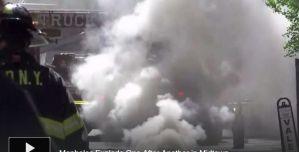 6 heridos y 3 edificios desalojados por nueva explosión de alcantarillas en 5ta Avenida de Nueva York