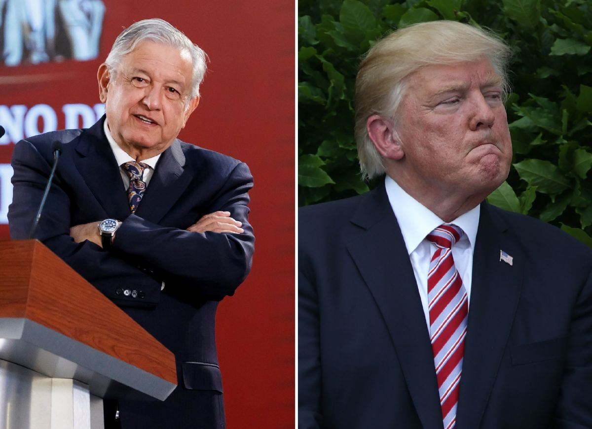 AMLO negó afectaciones en frontera por Trump y ahora pide ayuda a Estados Unidos