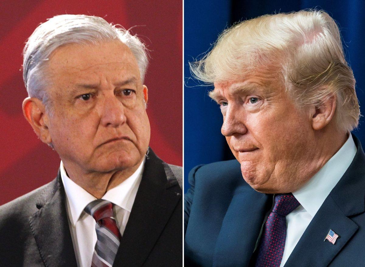 """Trump lanza nueva advertencia a AMLO sobre inmigrantes: """"Está equivocado"""""""
