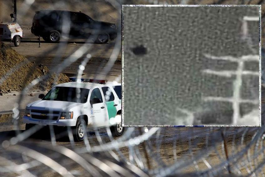 """El innovador método de coyotes para """"halconear"""" a agentes fronterizos, captado en video por primera vez"""