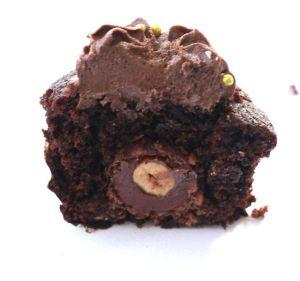 Recetas especiales: cupcakes rellenas de bombón