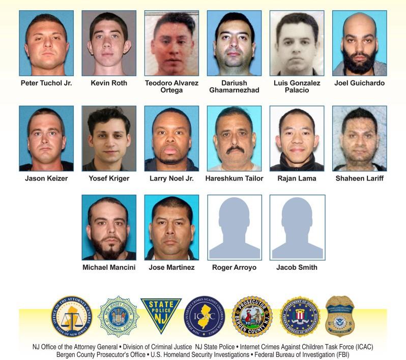 Religioso hispano, policía y profesor arrestados en red de tráfico sexual de niños entre Nueva York y Jersey