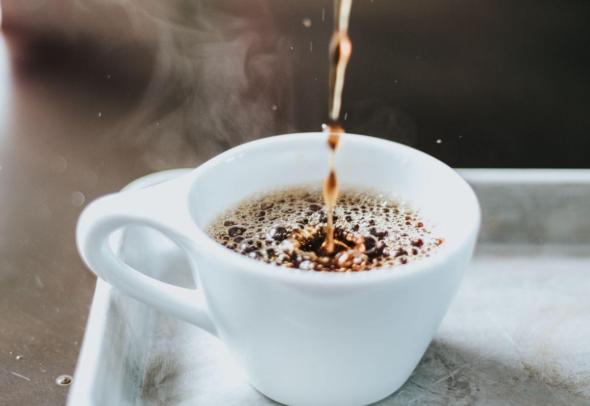 Una ¿inocente? taza de café.