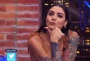 Erika Fernández apareció desnuda en Instagram