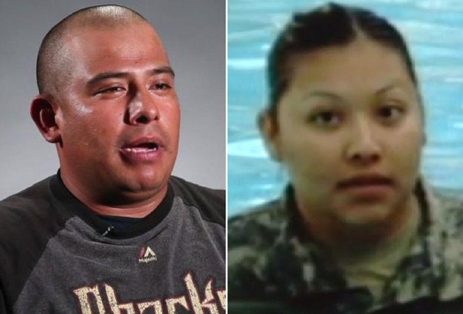 ICE cancela deportación de esposo hispano de la soldado muerta en Afganistán