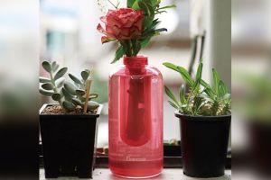 Samsung inventó un jarrón que funciona como extintor de incendios