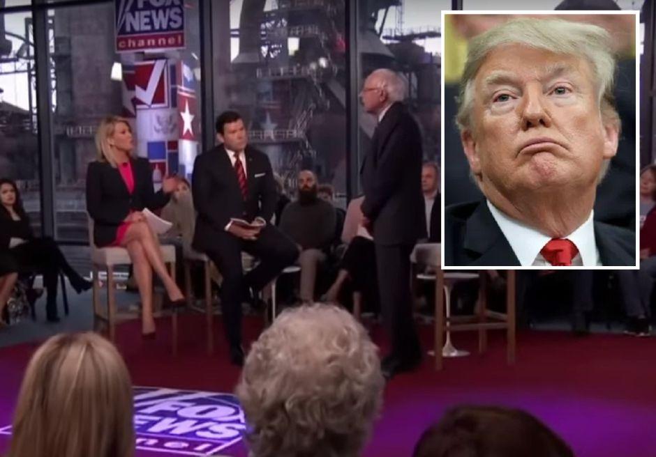 Trump critica a Fox News por programa especial con Bernie Sanders