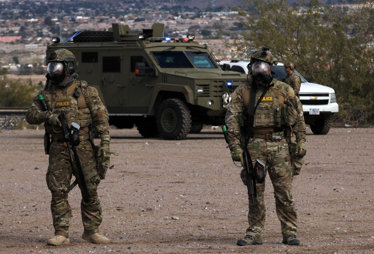 El Pentágono sopesa que soldados tengan contacto con migrantes en la frontera