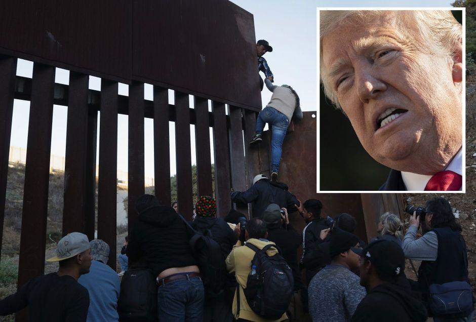 Trump defiende el derecho de negar asilo a indocumentados