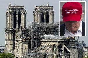 Administración Trump desata críticas por ofrecer ayuda inmediata para Notre Dame y olvidar a Puerto Rico