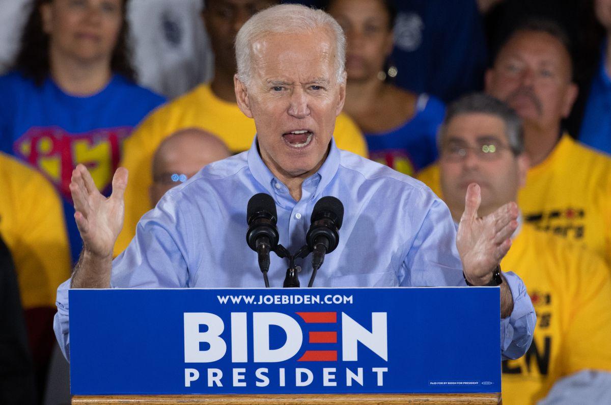 Biden vuelve a golpear duro, esta vez a los demás candidatos demócratas