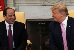 """""""Muy buen trabajo"""": Trump felicita al presidente de Egipto acusado de tortura y represión"""