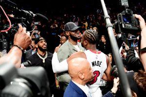 Dwyane Wade se despidió de la NBA con un triple-doble en Brooklyn