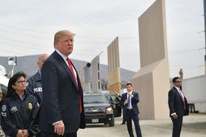 (Video) Así de protegido viaja Donald Trump por las carreteras