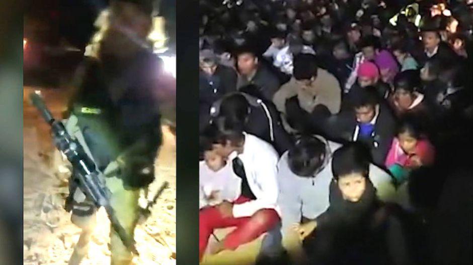 """Milicia armada y """"racista"""" detiene a 200 indocumentados y se los entrega a """"La Migra"""""""