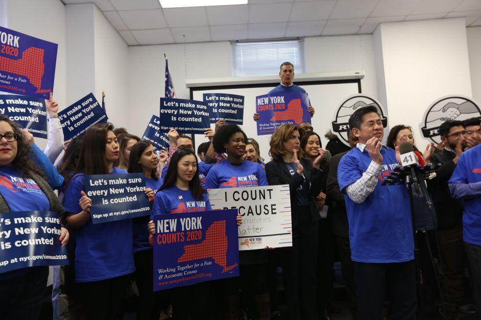 Lanzan campaña en NYC para que nadie tema ser contado en el Censo