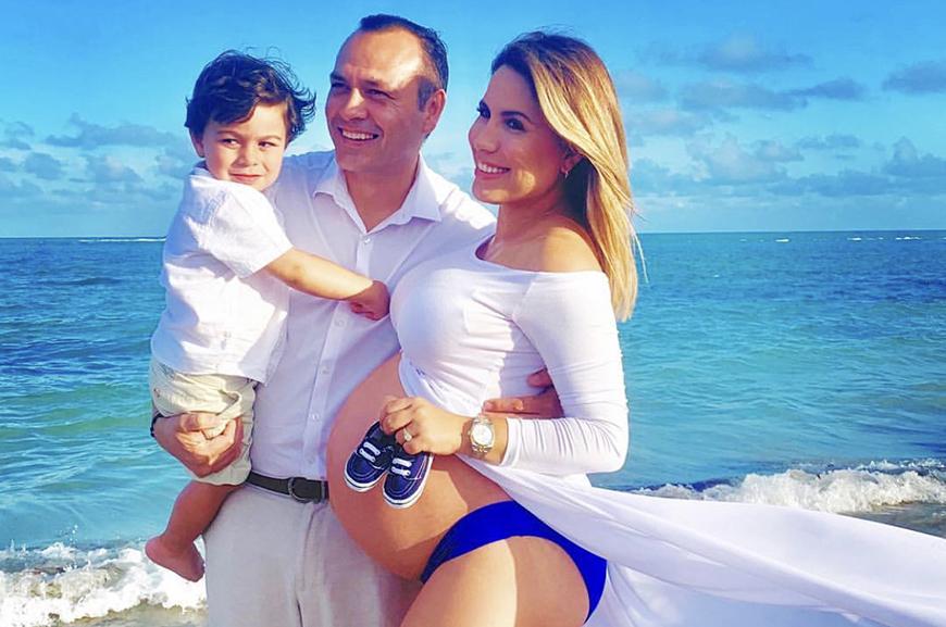 Lindsay Casinelli nuevamente mamá: Nació Massimo