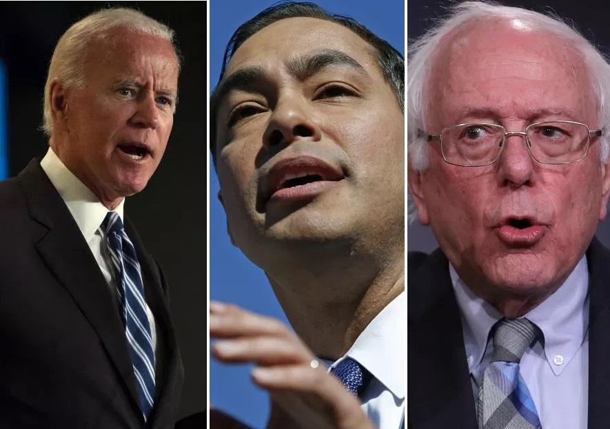 ¿Quién es el candidato demócrata favorito entre la comunidad latina en entidades clave?