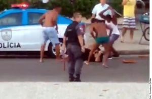 Video: brasileños y uruguayos convierten a Río de Janeiro en un campo de batalla