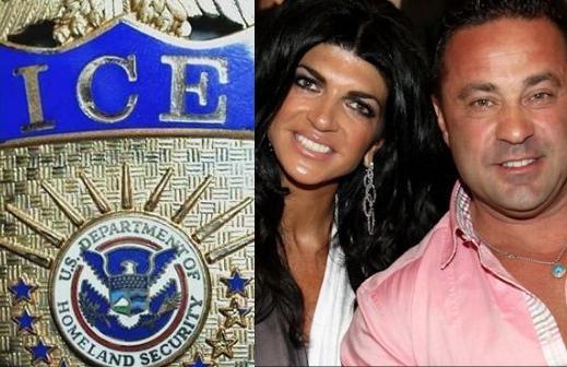 """""""Estrella de TV"""" se niega a visitar a su esposo a punto de la deportación. Giudice espera en cárcel de ICE"""