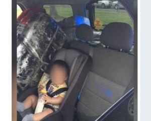 Mujer que llevaba a su bebé en medio de bultos de droga es detenida en Brownsville