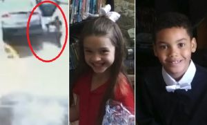VIDEO: Hermanos de 10 y 8 años saltan de auto en movimiento robado por drogadicto