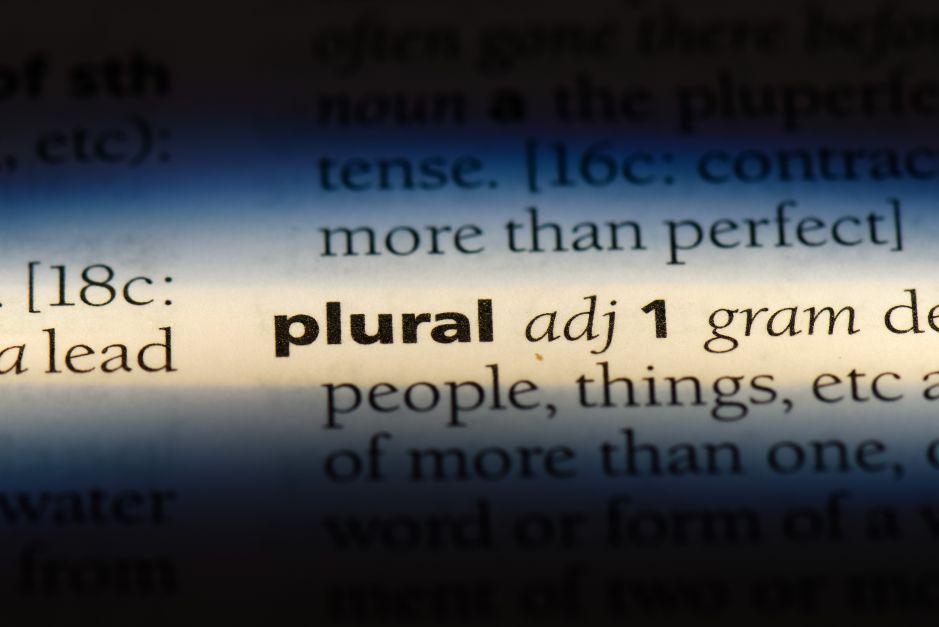 Letras: Cuando los plurales se disfrazan