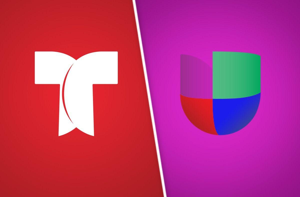 Telemundo y Univision.