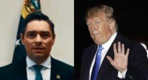 """Enviado de Guaidó se presenta ante Trump como """"embajador"""" de Venezuela"""