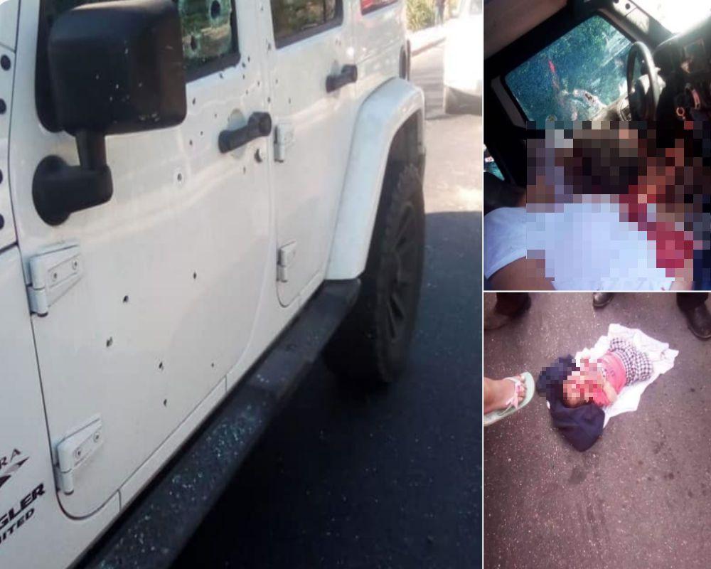 VIDEO: El brutal ataque donde mataron a 2 mujeres en Tabasco; bebé sale ileso