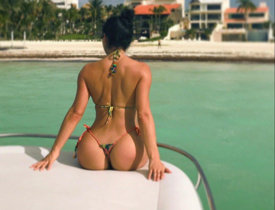 Joselyn Cano, la Kim Kardashian mexicana, compartió un candente vídeo