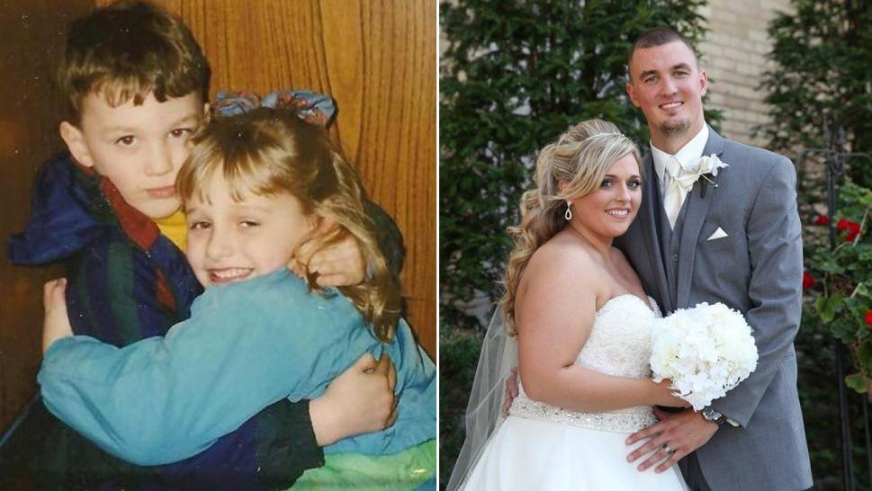 Se conocieron en el hospital siendo niños, ahora están casados y ya tienen hijos