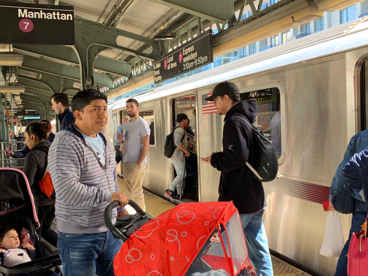 MTA asegura que el tren 7 pasó de ser el peor al mejor del metro de NY