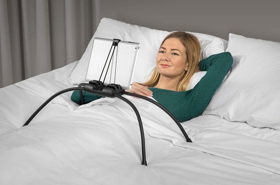Los 5 mejores soportes de tabletas para usarla cómodamente cuando estás en la cama