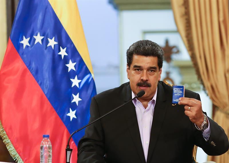 Nicolás Maduro en el centro de la polémica.