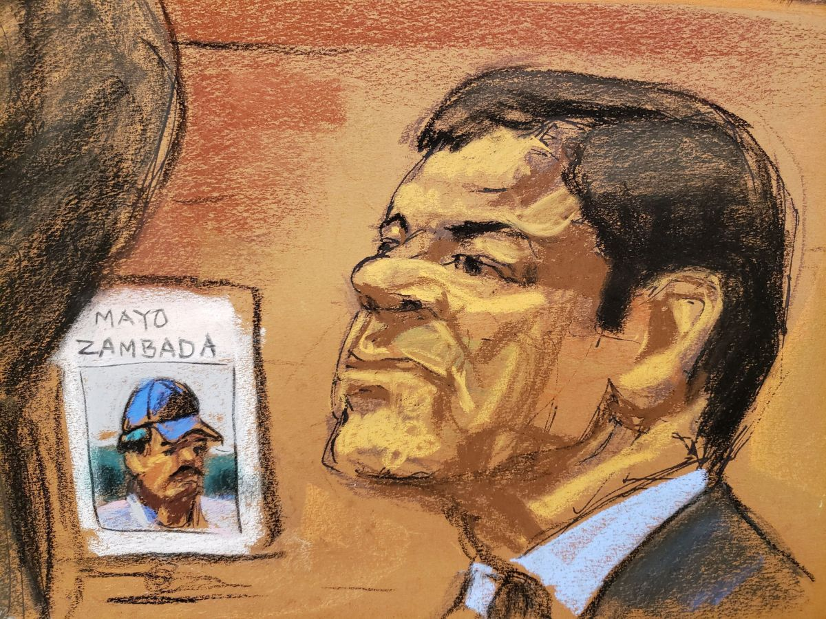 """En el juicio a """"El Chapo"""" se habló de su parecido con el """"Mayo"""" Zambada."""