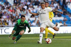 Doblete de Mariano y el Real Madrid derrota al Villarreal