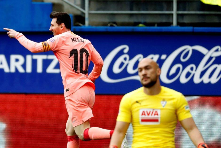 Messi rompe la marca histórica de Zarra en España con su sexto Pichichi