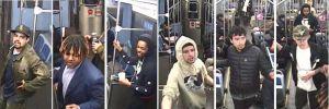 Buscan a sospechosos que golpearon y robaron a una persona que dormía en el tren de la Línea Roja de la CTA en Chicago
